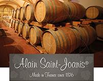Alain Saint-Joanis • Dépliant Laguiole Wine