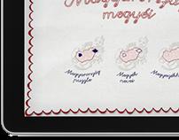 iPad app design - Magyarország megyéi