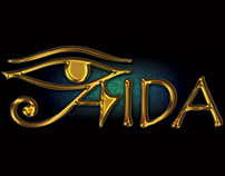 Aida Logo - Lyric Opera Productions