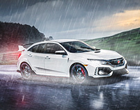 Honda Civic Type R Cinemagraph