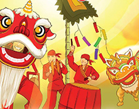 Traditional Vietnamese Lunar New year 2015