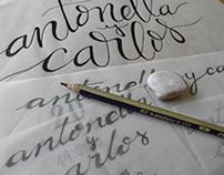 Tarjetería / Lettering
