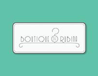 'Boutique de RubIna' Logo design