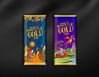 Gold 999f wrapper design