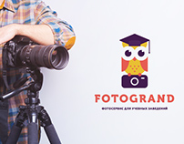 "Brand identity for ""Fotogrand"""