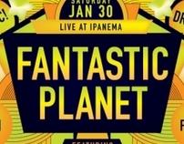 Fantastic Planet RVA Poster Graphics