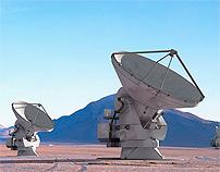 ALMA Telescope - Composite