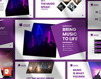 Music Festival PowerPoint Presentation Template