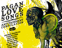 CD Packaging / Music illustration: Pagan Love Songs