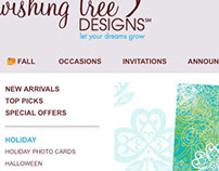 Wishing Tree Designs Web Pages