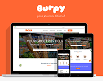 Online Grocery HomePage