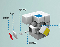 Rubik's Cube _STARTUP VIDEO ANIMATION