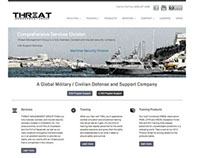 Threat Management Group Website Design & Development
