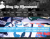 Stay Up Movement Website