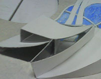 Art Gallery Design - Handmade Model