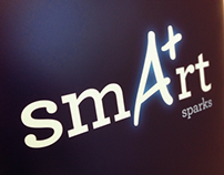 AMP Smart sparks | Design and typography