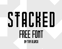 STACKED - Free Font