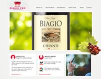 Biagio Cru Website