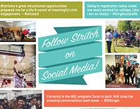 Follow Stritch on Social Media