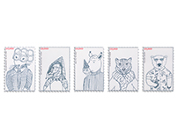 10,000 Species Stamp Series