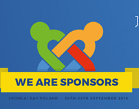 We are sponsors of JoomlaDay Poland 2016