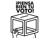 ¡Piensa bien tu voto!