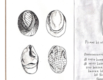 page 8~9 (The Sketchbook Project 2013)