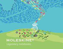 SCENT LIBRARY X MOLESKINE Limited Notebook