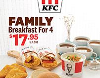 KFC Breakfast Menu Promotion