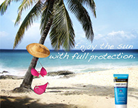 Neutrogena Sunscreen Campaign