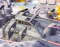 Snowspeeder - Battle of Hoth