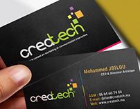 Createch - business card