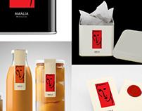 Amalia Brand design
