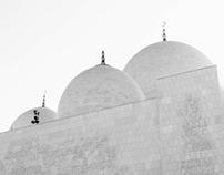 A Day at The Grand Mosque of Abu Dhabi