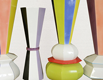 CARIOCA - vases collection for Adriani & Rossi