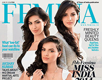Femina Magazine Cover Photoshoot