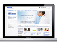 Philips Sonicare Web Site