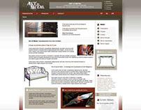 Homepage Art of Metal, ferronnerie d'art.