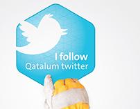 Qatalum Social media campaign