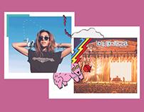 Newsletter Lollapalooza | Glamour | 2018