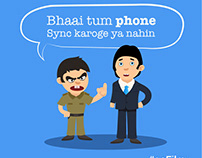 Offers through Bollywood :: Copywriting & Illustrations