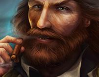 """Illustration for """"Pirates: Tides of Fortune"""" ® PLARIUM"""