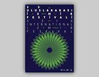 33rd International Izmir Festival Branding Design