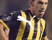Peñarol Home Kit 2018
