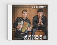 Embrujo Vallenato - CD
