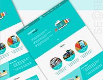 SECRET webpage design