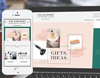 The Steamery - Responsive Website