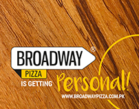 Flat Bread Campaign - Broadway Pizza