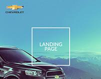 Chevrolet Captiva - Landing Page/Web