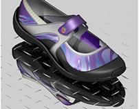Footwear Graphic Patterns